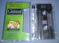 THE CLASSICAL COLLECTION GERSHWIN MODERN MASTERPIECES cassette album T6655