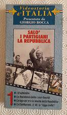 CS23> FILM VHS Salò i Partigiani la Repubblica