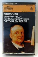 Bruckner's Symphony No. 6 - Otto Klemperer w/ New Philharmonia cassette