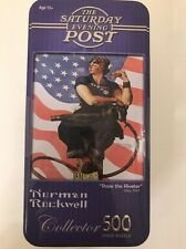 Masterpiece Puzzle CO #31030 Rosie the Riveter Rockwell Tin Jigsaw Puzzle 500 pc