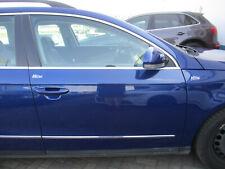 Tür vorne rechts VW Passat 3C COBALTBLUE LC5E blau