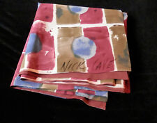 Nick Cave Hand painted silk fabric scarf  SIGNED
