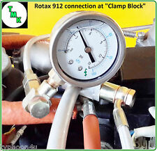 Rotax 912 914 Engine Fuel Pressure Test Kit Gauge Ultralight Trike Aircraft