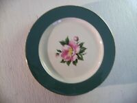 Vintage 1950's HOMER LAUGHLIN CENTURY CHINA Empire Green Plate - Made in U.S.A.