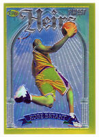 🔥KOBE BRYANT 1996-97 TOPPS FINEST ROOKIE HEIRS GOLD #269 RC LAKERS