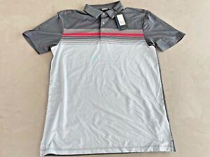 PING RIDGE Polo Shirt Aspalt Multi Medium