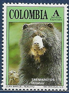 Colombia 1992 Sg E1927 MNH Spectacled Bear