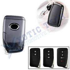 Full Protection Smart Key Fob Cover for Lexus IS GS RX ES NX LS SC - Black TPU