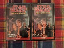 Star Wars Timothy Zahn Audio Tapes. Visions Of The Future Part 1 & 2. Fast Ship.