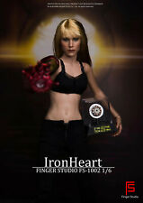 Finger Studio 1/6 FS-1002 Iron Heart W/Light Collectible Model Toy