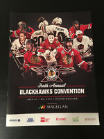 2017 CHICAGO BLACKHAWKS Convention Programs - 10TH ANNUAL Stanley Cup Champions