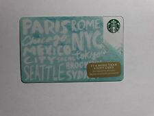 2014 Destinations - Holiday Issue Starbucks Cards - New & Never Swiped