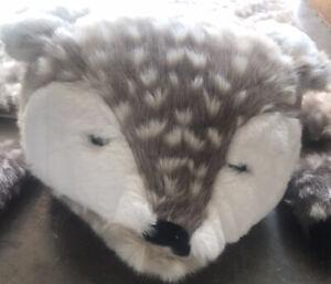 Pottery Barn Kids Faux Fawn Fur Deer Sleeping Bag - Rare - Brand New - Adorable!