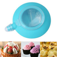 Silicone Cake Piping Mold Dessert Macaron Decorating Mould Squeeze Cream DIY