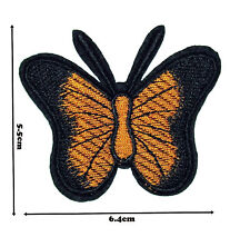 Butterfly Iron Sew On Embroidered Patch Badge Patches Logo Fancy Badges #330