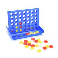 Connect Four In A Row 4 In A Line Board Game Kids Children Fun Educational Toy D