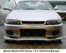 Aftermarket FRP Front Bumper Bodykit for Nissan Skyline R33