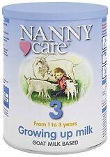 Nannycare Nanny Goat Milk Growing Up MILK Nutrition 400g / 900g