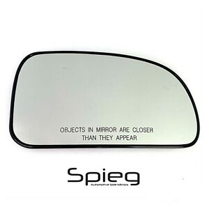 Side Mirror Glass for 2002-2009 Chevrolet Trailblazer EXT HEATED Passenger Side
