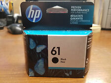 New in box Sealed Genuine HP 61 Black Ink Cartridge 2019 CH561WN Envy 4500 5530