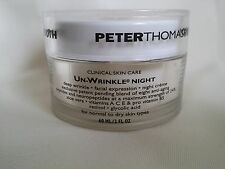 PETER THOMAS ROTH CLINICAL SKIN CARE UN-WRINKLE NIGHT CREME no seal 2 oz