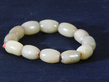 Antique Beaded Old Jade Chinese Bracelet
