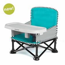 Summer Pop 'n Sit Se Booster Chair Sweet Life Edition Aqua Sugar Portable Seat