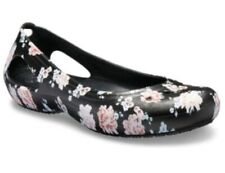 Crocs womens Size 8 Kadee Printed Floral Flats NWT