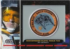 STAR WARS GALACTIC FILES PR-18 EMBROIDERED PATCH SNOWSPEEDER PILOT ROGUE TWO