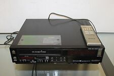 Quasar VH5846XE VCR Video Cassette Recorder VHS Player with remote