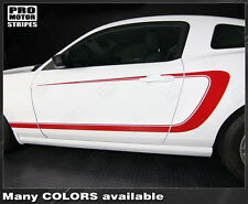 Ford Mustang Side Accent C-Stripes Decals 2010 2011 2012 2013 2014 Pro Motor