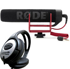 Rode VideoMic GO richtrohr-Telecamera Microfono + TAMBURI Cuffie