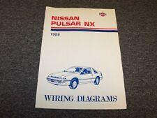 1988 Nissan Pulsar Hatchback Electrical Wiring Diagram Guide Manual NX 1.6L