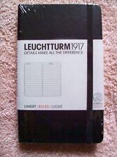 LEUCHTTURM German Quality LITTLE BLACK BOOK 150mm High