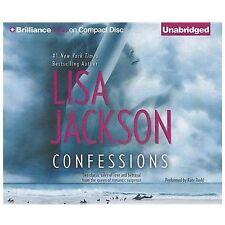 Confessions by Lisa Jackson (2012, CD, Unabridged)