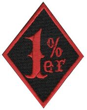 1% BIKER CUSTOM Embroidered  Motorcycle PATCH