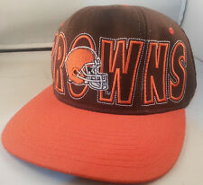 best website 5f081 b74b2 ... new zealand vintage cleveland browns stretch fitted hat large  embroidered logo sizes 7 7 3 46499