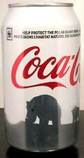 FULL NEW Can Coke Coca-Cola Save Polar Bear Christmas 2011 CANADA French English