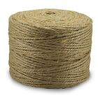300' feet Sisal Twine Heavy Duty Double Ply 100% All Natural Fiber Rope