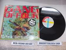 "LP Punk Gang Of Four - I Love A Man In Uniform 12"" (2 Song) EMI ELECTROLA"