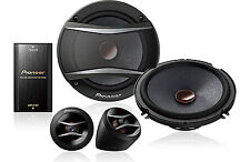 "PIONEER TS-A1606C +2YR WARANTY CAR 6.5"" COMPONENT SPEAKER SYSTEM 350 WATTS POWER"