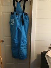 Riviyele Bib Teal Blue, removable bibs, wear as pants.