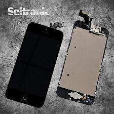 Display iPhone 5 LCD VORMONTIERT mit RETINA Glas Touchscreen -SCHWARZ- BLACK -