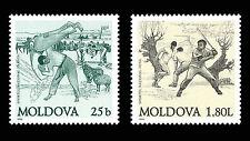 Moldova 1999 National Sports 2 MNH stamps