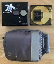 Sony Net Md Walkman Mz-Ne410 Portable MiniDisc Player with Case 1 Disc