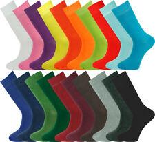 Mysocks Bulk Buy Mens 20 Pairs Plain Socks