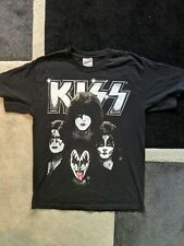 Kiss 2010 Tour T Shirt Size Medium