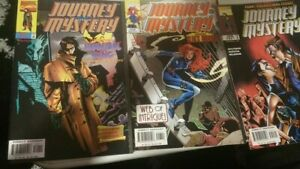 Journey into Mystery 517. 518 and 521        Marvel Comics Lot!
