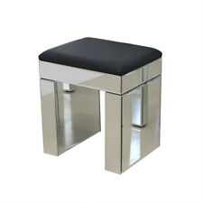 Mirrored Bedside Tables Cabinet With 3 Drawers Nightstand Side Table Modern UK