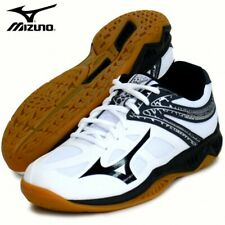 Mizuno Thunder Blade 2 Volleyball Shoes V1GA1970 White Black With Tracking